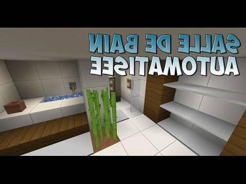 salle de bain minecraft beautiful belle images comment faire une belle salle  de bain dans minecraft