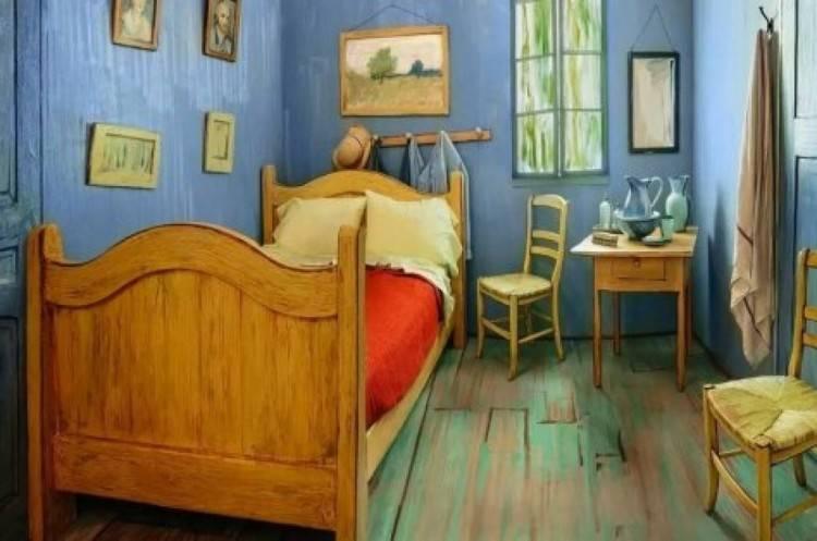 La Chambre  Coucher Vincent Willem Van Gogh