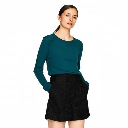 Riani Le blouson en jersey ligne courte mode Femme Vêtements bleu roi  multicolore 12467077 Printemps et