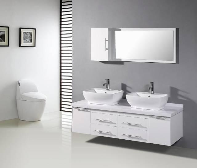 Blanc Gris Moderne Salle De Bain Noire Avantages Inconv Nients Et 20 Id Es De Avec Salle Bain Noire