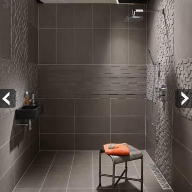 Ide Agencement Salle De Bain Latest Salles De Bains Modernes Avec Avec Idee Carrelage Salle Bain Gris Decoration Comment Amenager Une Petite Mur Sol Sall De