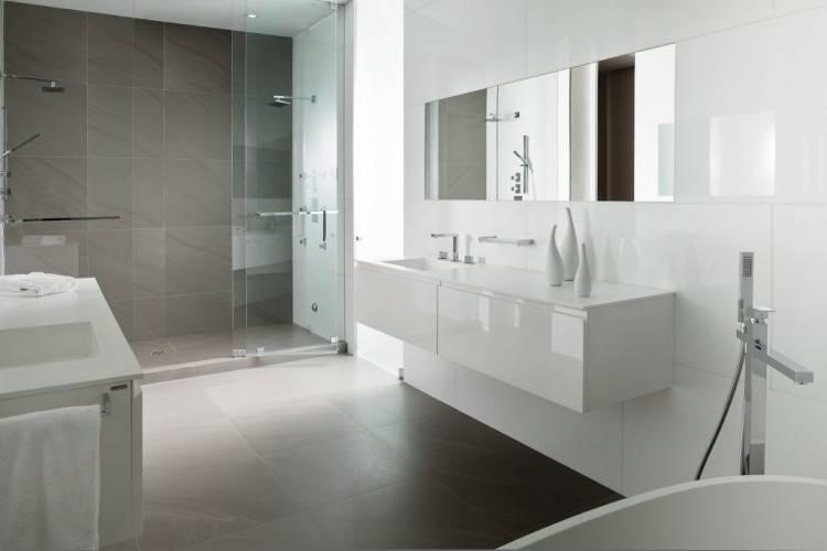 30 idaces incroyables de salle de bain gris et blanc
