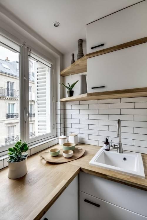 belle déco cuisine moderne petit espace