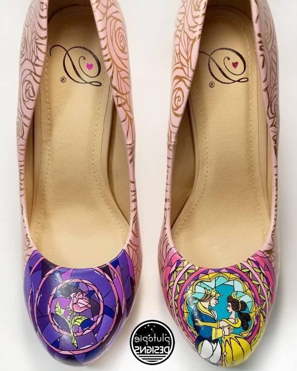 Les chaussures Disney à talons de Suri