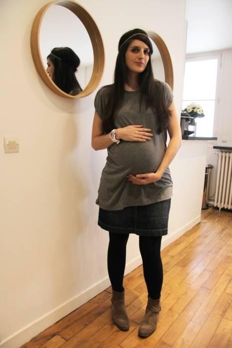 NiSeng Robe Grossesse Femme en Mousseline Mode Femme Enceinte Robe avec pour Maternité Photographie Props Violet: Amazon