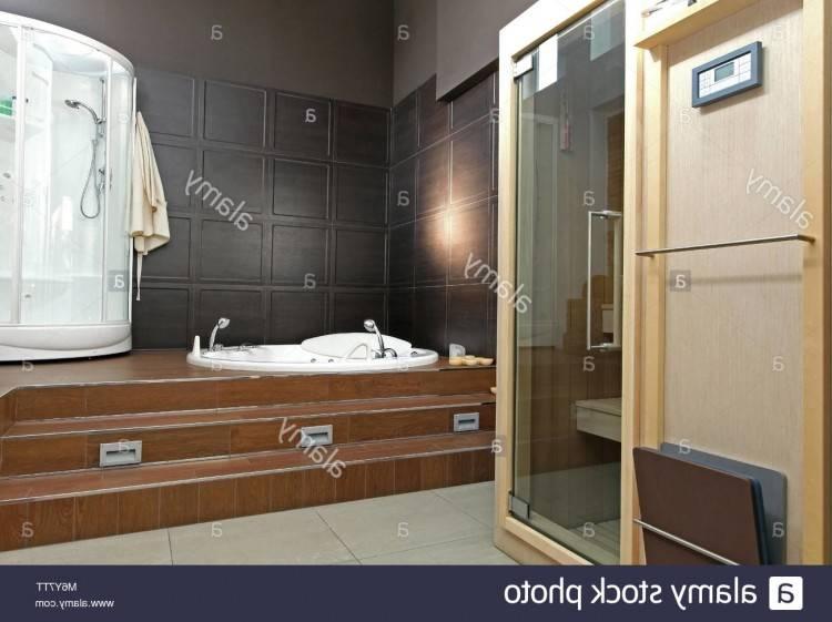 Merveilleux Salle De Bain Avec Sauna Jacuzzi Et Douche Avec Unique Salle De Bain Avec Sauna