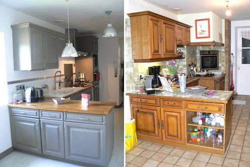 Avant/après : la cuisine de Tonjé, entièrement rénovée