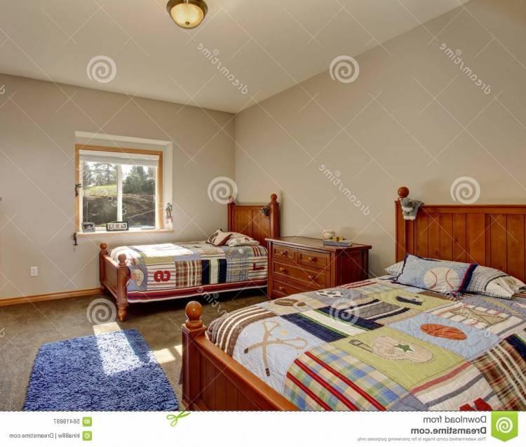 Beau Chambre Lit Jumeaux Concernant Chambre À Coucher De L'enfant De Luxe  Pour Deux Enfants