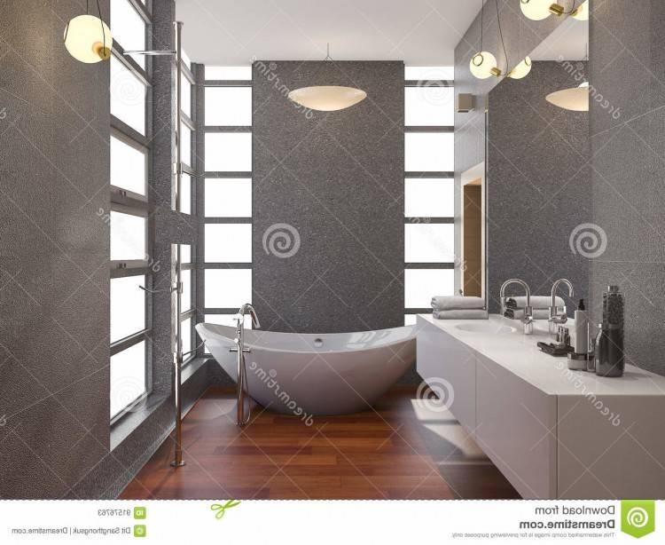 Blanc petite salle de bains moderne avec baignoire d'angle, lavabo, miroir et fenêtre