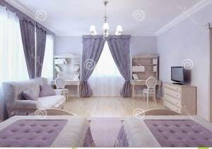 Une chambre à coucher digne des milles et une nuit