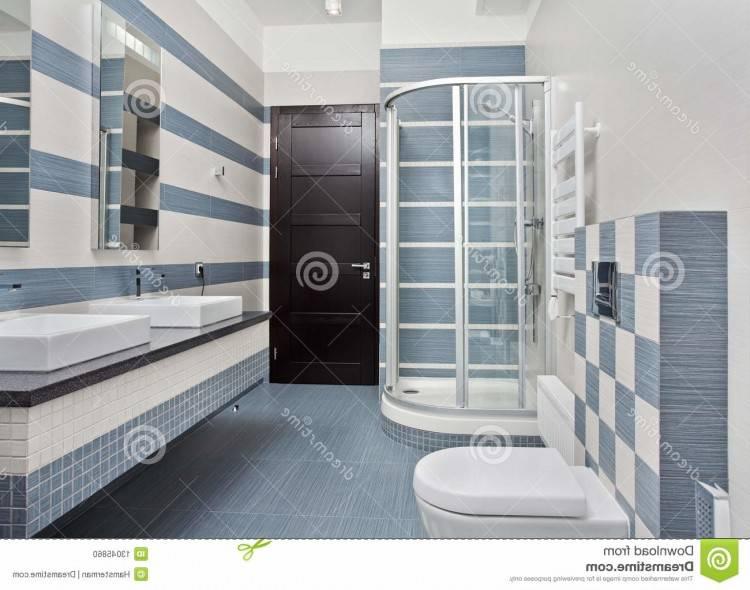 Salle de bain bleu gris