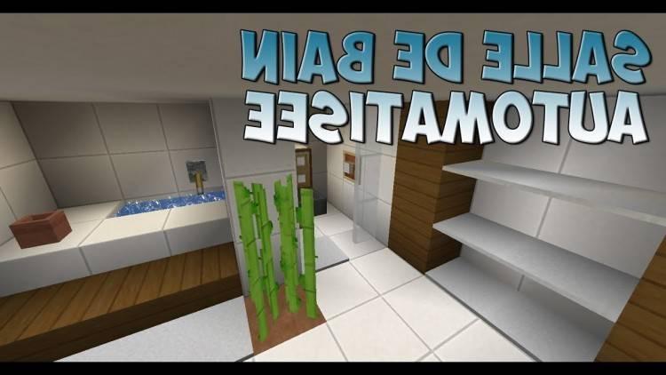 Minecraft Comment Cr Er Une Belle Salle De Bain YouTube Avec  Maxresdefault Et Salle De Bain