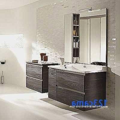 petite salle de bain moderne meuble vasque rangements bois Petite salle de bain moderne en 70 idées exclusives témoignant de sa polyvalence