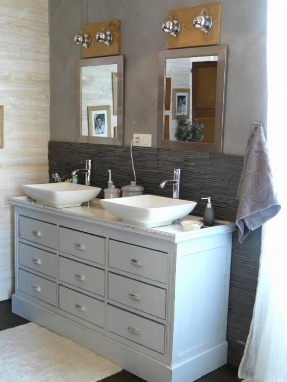 Dans la série de meubles Lally, Brico Dépôt propose des meubles de 60 cm et  de 70 cm