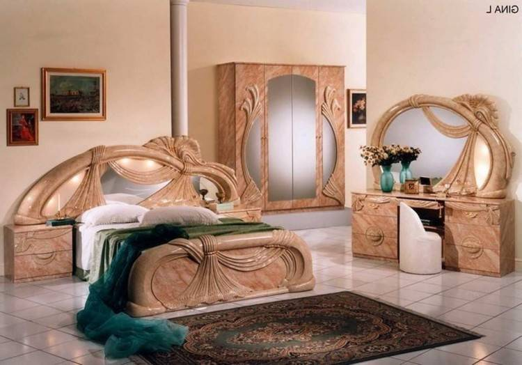 chambre coucher italien a complete