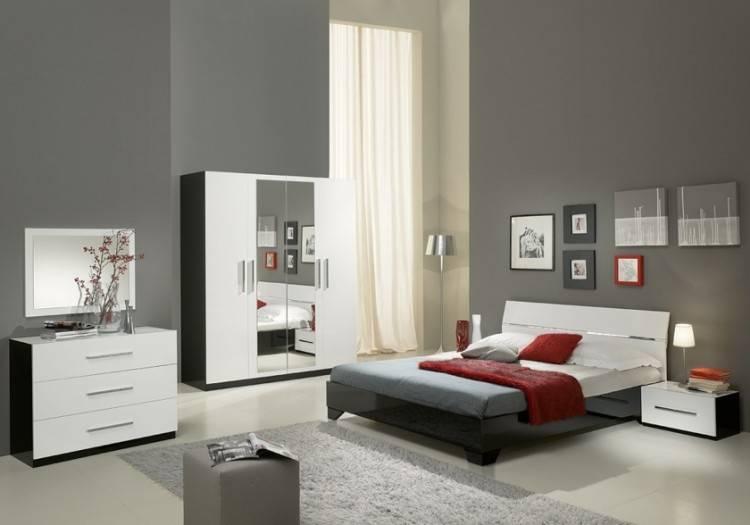 Mobilier de chambre à coucher en bois massif