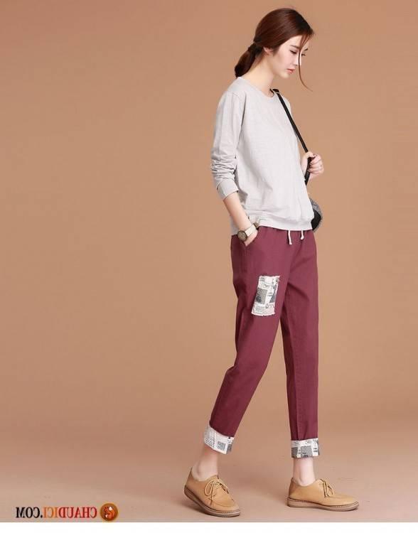 Chaudici Femme Pantalons Taille