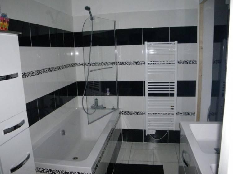 salle bain moderne beautiful idee deco gallerygn trends co petite  cuisine indogate noir blanc bois 1000x1507