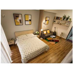 Mise en scène, vous conseille de placer votre lit contre le plus grand mur de la pièce, afin de faciliter la circulation autour et d'avoir la possibilité de