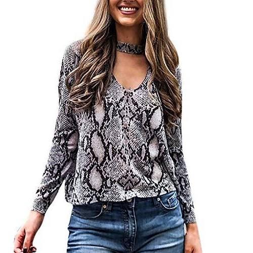 Transer ® Manteaux Femme Mode Femmes Décontractée Floral Veste courte imprimée à manches longues Manteaux