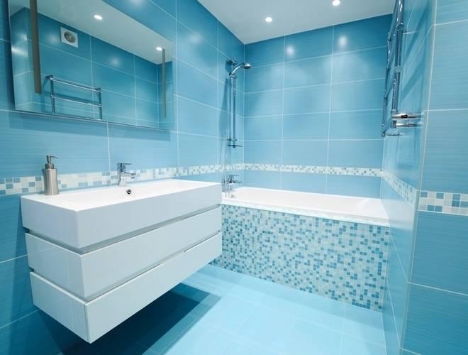 salle de bain bleu et gris e salle de bain moderne bleu et gris