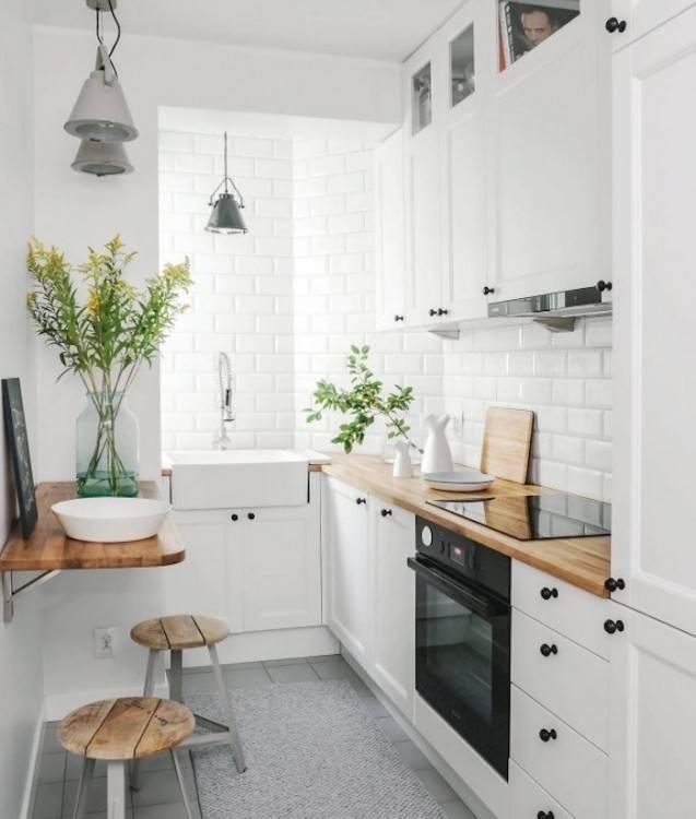 Chez Veneta Cucine, vous trouverez une large sélection de cuisines équipées et modernes adaptées aux petites surfaces
