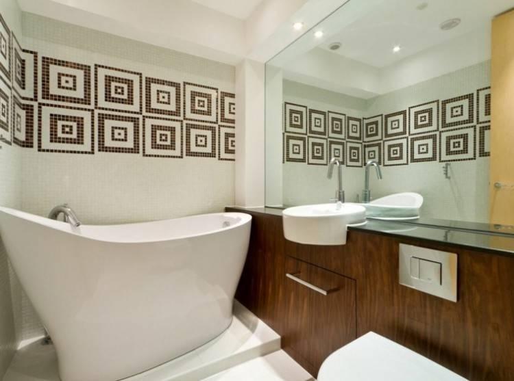 frise autocollante salle de bain