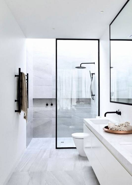 fenetre sallen avec rideau douche pour une petite et meuble 1200x1600  quel de salle bain moderne