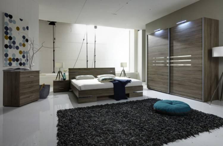 Chambre à coucher en chêne