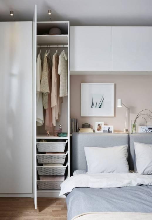 Dressing pour petite chambre – 50 idées fonctionnelles, modernes et gain d'espace | Chambre à coucher