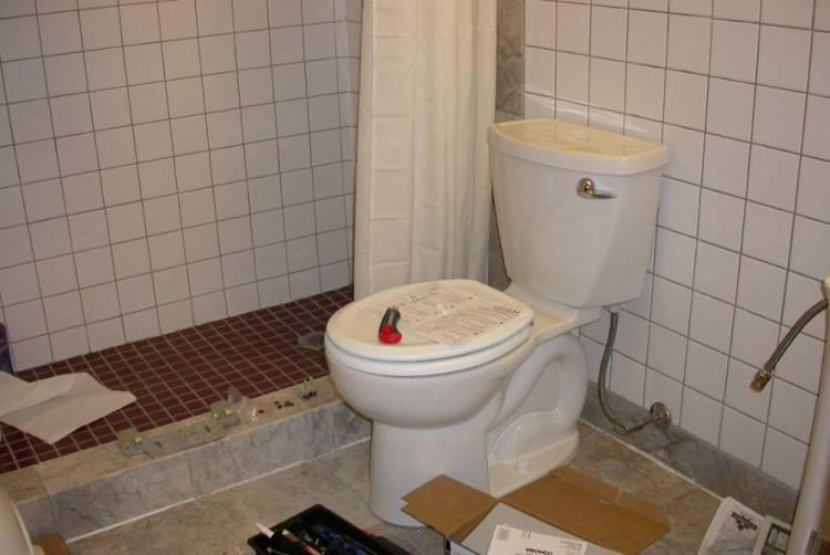 mur de salle bain
