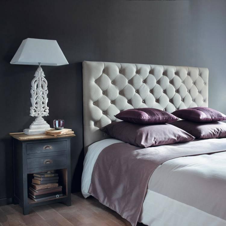 chambre avec tete de lit capitonne chic la a lit chambre a coucher avec tete de
