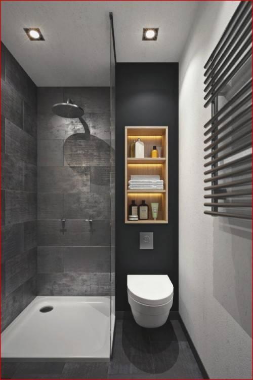 Une salle de bains moderne, résolument contemporaine avec ce revêtement en  céramique effet béton