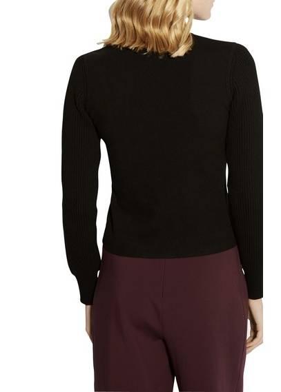 Karen Millen Colourblocked Robe en maille noir & Multi,manteau karen millen,Top  ventes