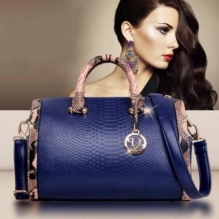 Desigual Femme Sacs à main MALTA GEOFRESH Noir / Blanc 1742572,doudoune  desigual bleu,