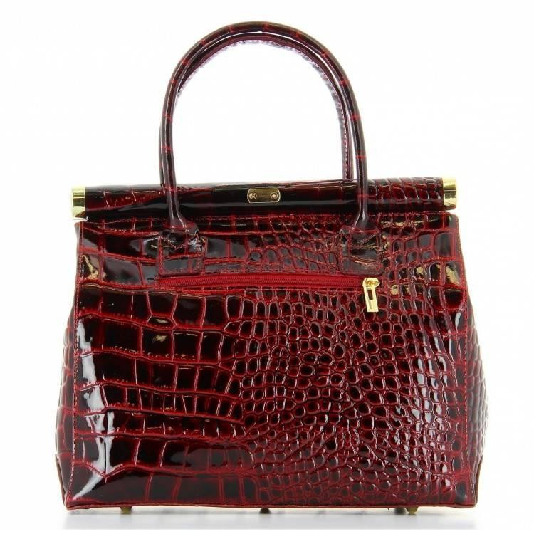 femme bretelles cuir ajustables du petit sac à main cartable porté sur  le dos cuir bordeaux,