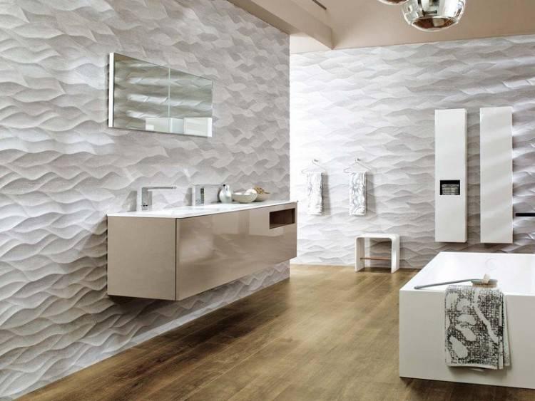 Salle Bain Moderne Salle Bains Moderne Carrelage Mural Sol Gris Avec Impressionnant Idee Deco Carrelage Salle