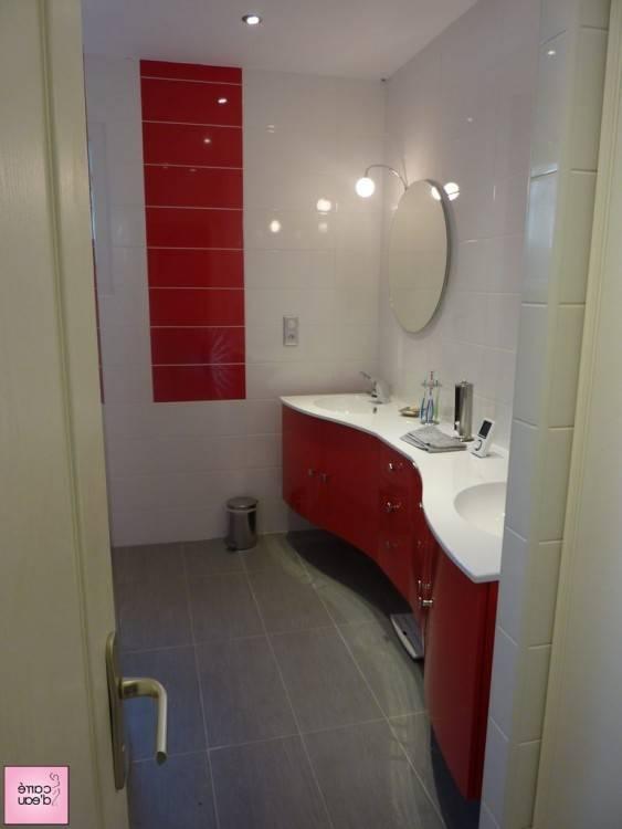 salle de bains grise cheap bain moderne