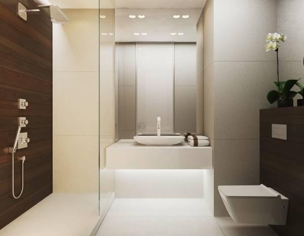 Salle de bain Des couleurs chaleureuses