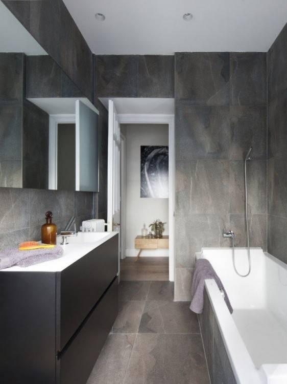 Salle De Bain Moderne Grise: Surprenant salle de bain moderne grise sur 21 salle de