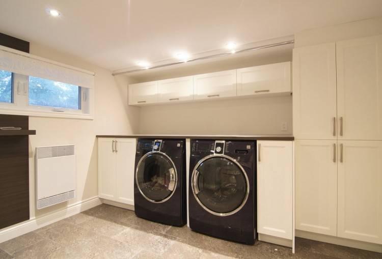 Découvrez 31 idées pour intégrer la machine à  laver !