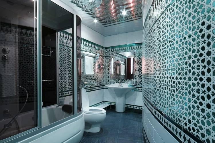Carrelage de salle de bains: 57 idées tendance pour les murs et le sol