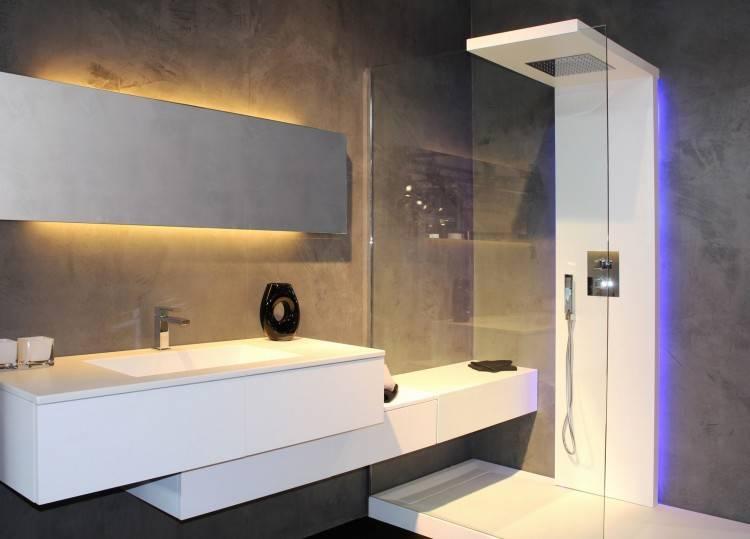 Salle De Bain Moderne Avec Douche Italienne , Best Salle De Bain Moderne Avec Baignoire Dangle