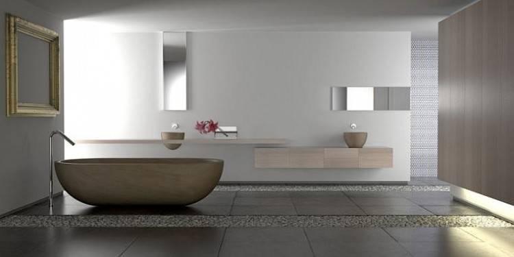 Codes esthétiques : portes lisses, sanitaires aux angles saillants ou très arrondis