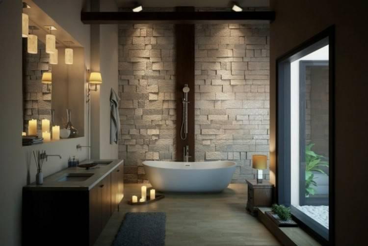 Salle Bain Moderne: Magnifique salle bain moderne à salle de bain moderne luxe salle de