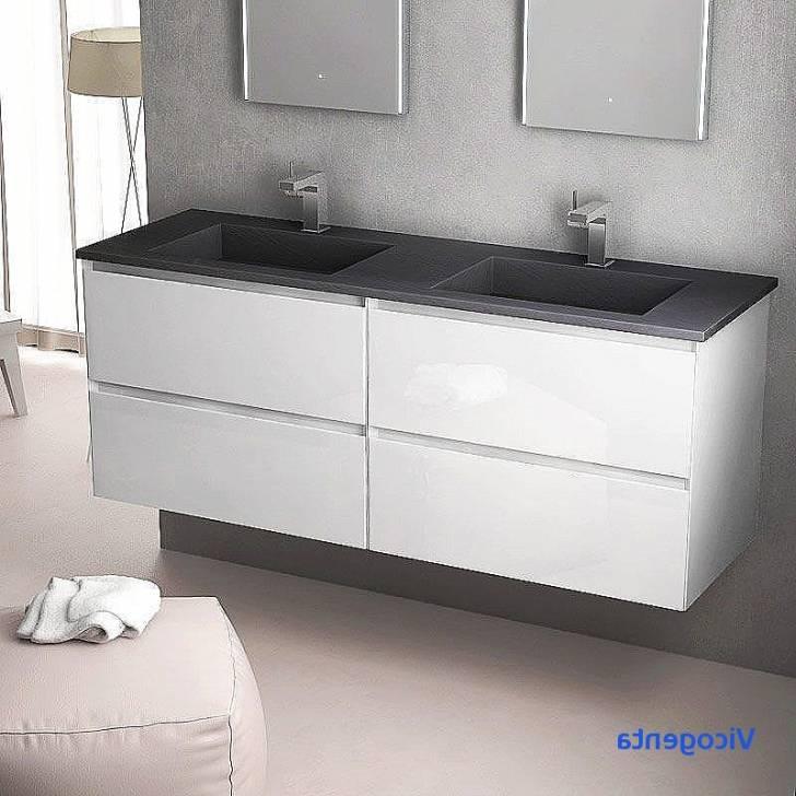 Isa Loft s Meuble Salle Bain Moderne  Blanc Vasque