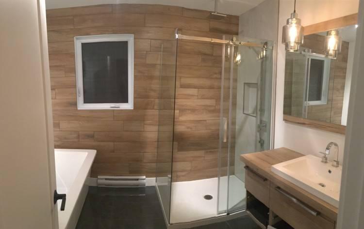 30 idaces incroyables de salle bain gris et blanc moderne noir