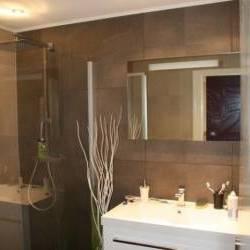 Magnifique salle de bain design blanc