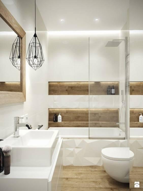 salle de bain moderne avec douche italienne et baignoire photo salle de bain  moderne avec douche