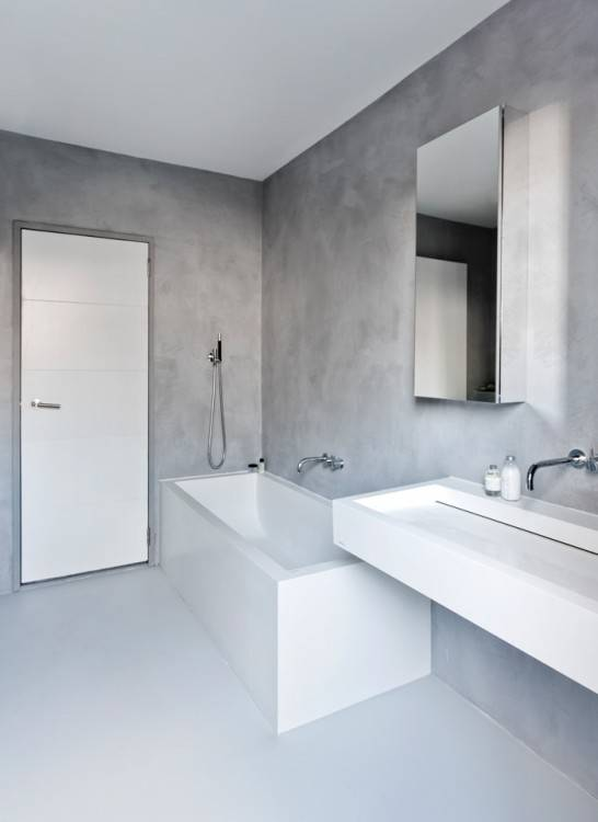 Beautiful Idee Carrelage Salle De Bain Moderne Photos Design Avec Avec Beautiful Idee Carrelage Salle De